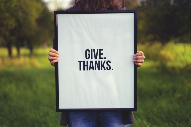 Give Thanks Share Some Love by Saying Thank You