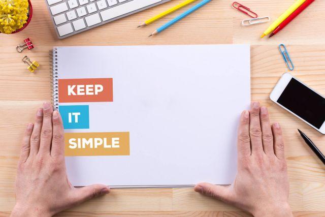 Well-Designed Websites Keep Things Simple