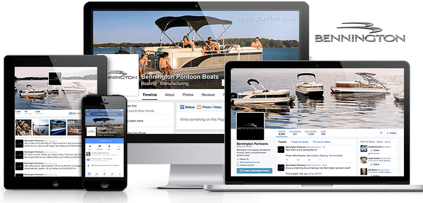 Bennington Pontoon Boats – National Boat Manufacturer