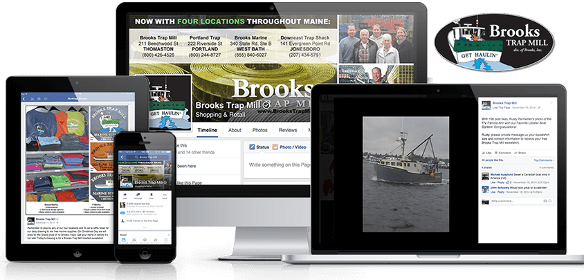 Brooks Trap Mill – National Lobster Trap Manufacturer
