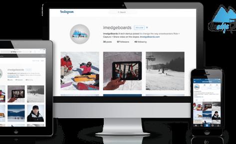 ImedgeBoards – Snowboard Tech & Software Startup