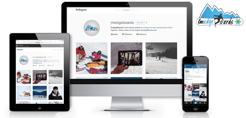 ImedgeBoards – Snowboard Tech & Software Startup