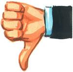 We Vote Thumbs Down