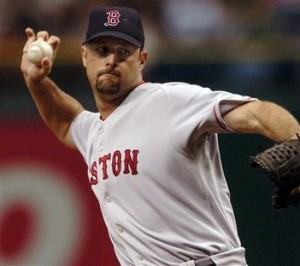 Tim Wakefield Floats Up Another Butterfly