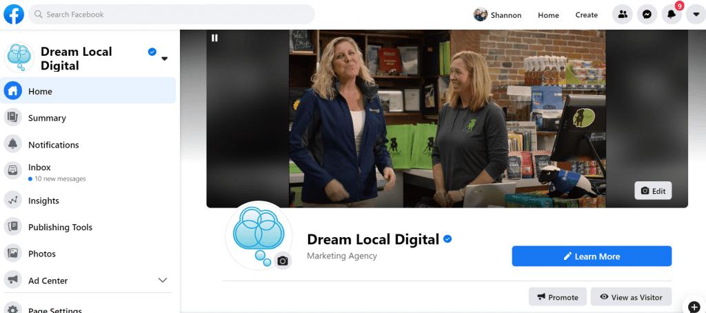 Dream Local Digital Facebook